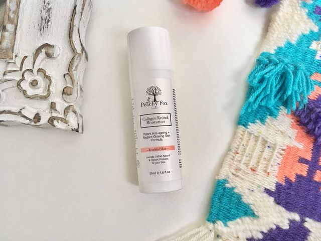 Natural Beauty Review: Peachy Fox London - Collagen Retinol Moisturiser