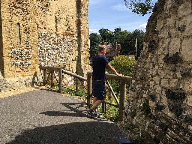 Guildford Castle - Monthly Family Roundup - What we got up to in August 201