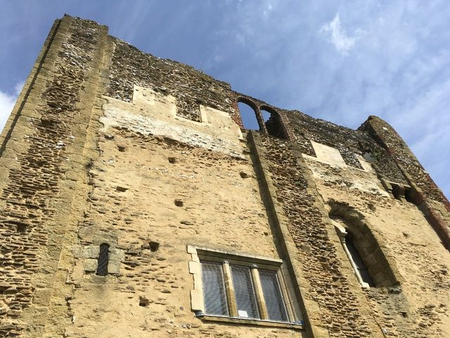 Guildford Castle Surrey - Monthly Family Roundup - What we got up to in Aug