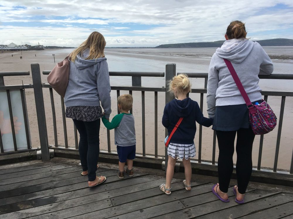 Pic of Weston Pier - Monthly Family Roundup - What we got up to in August 2