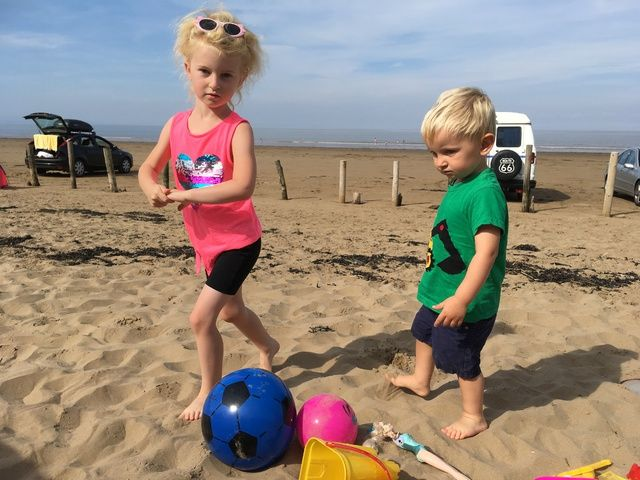 Berrows Beach - Monthly Family Roundup - What we got up to in August 2017 -