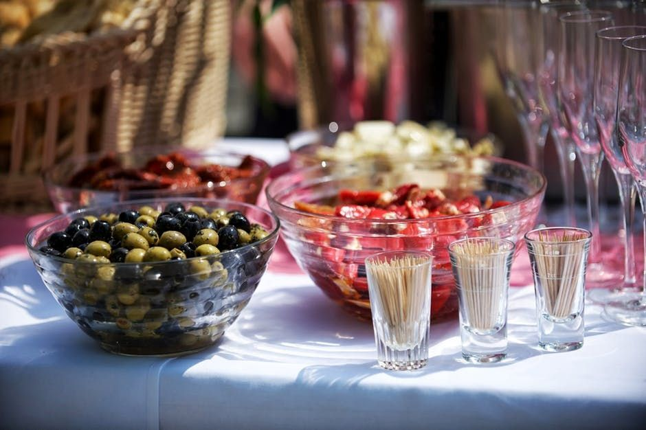 party food 8 Great Entertainment Ideas for your Next Party