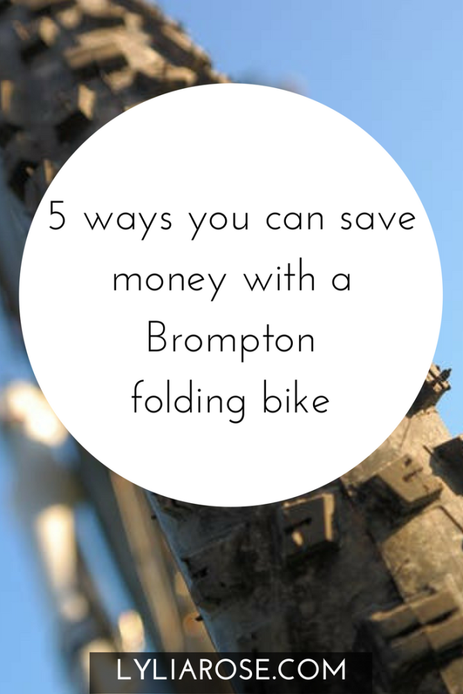 5 ways you can save money with a Brompton folding bike pin