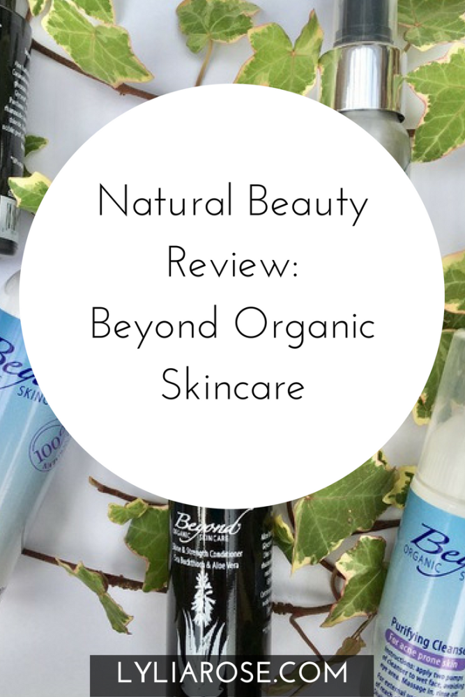 Natural Beauty Review Beyond Organic Skincare PIN