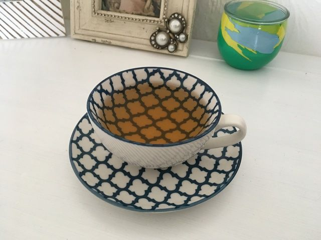 Tea Cup Saucer Tesco - Warming Autumn Flavours - The Tea Makers Review
