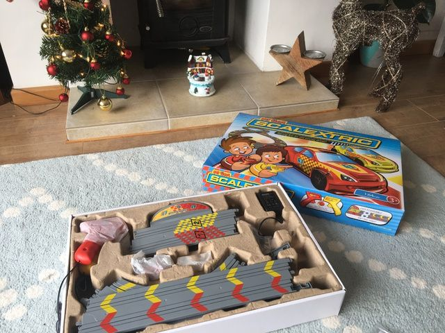 Christmas Comes Early My First Scalextric Review - Lylia Rose Blog Post 5