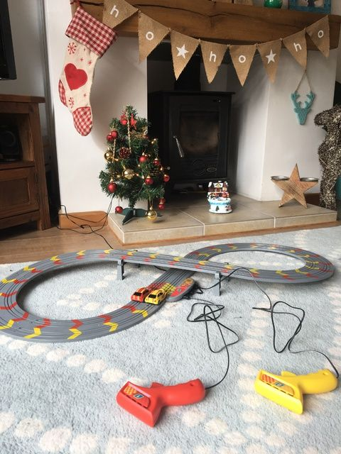 Christmas Comes Early My First Scalextric Review - Lylia Rose Blog Post 6