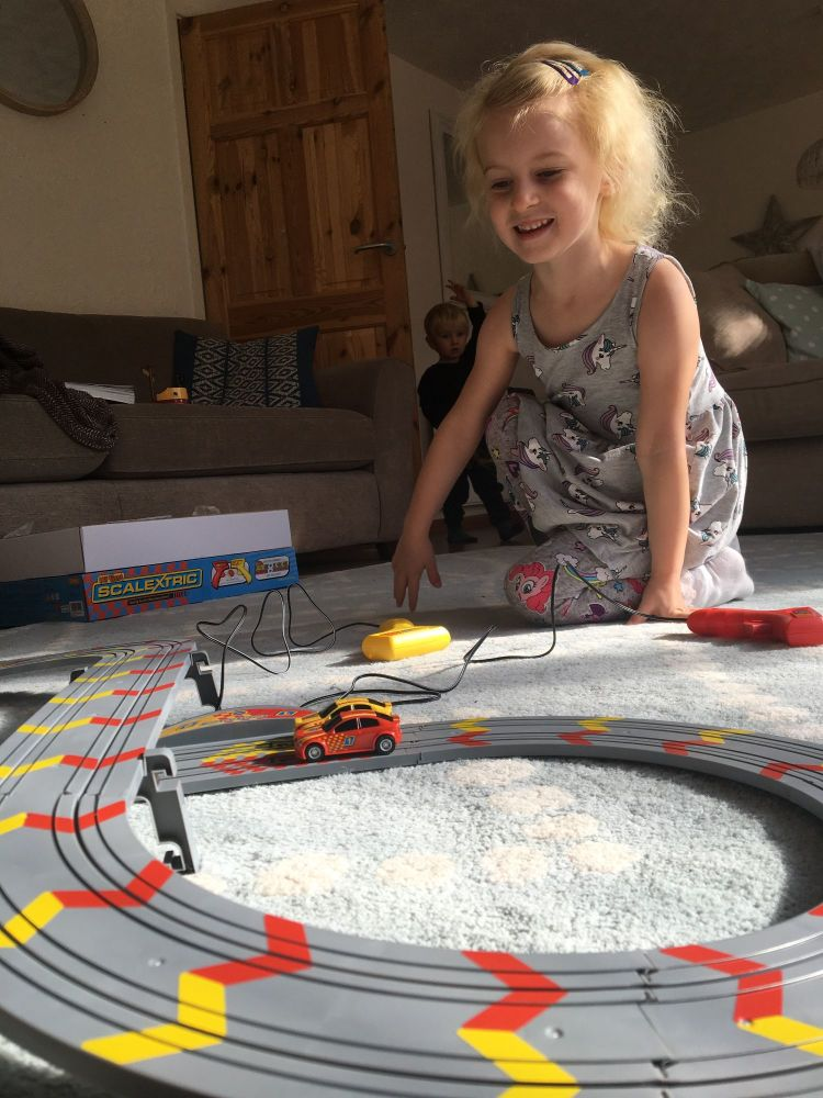 Christmas Comes Early My First Scalextric Review - Lylia Rose Blog Post 7