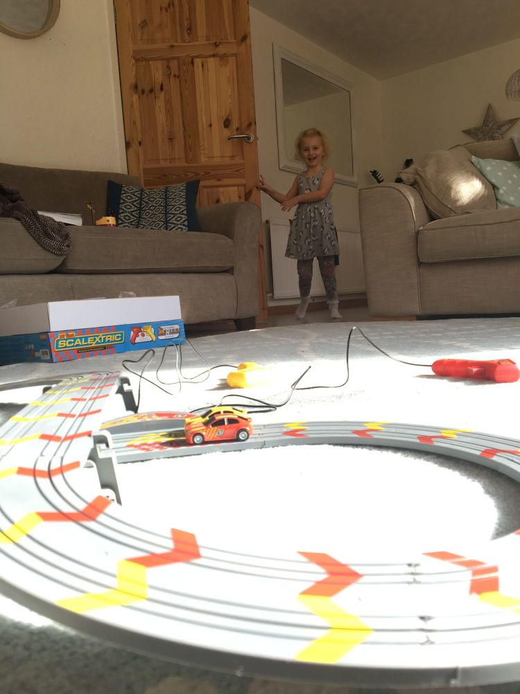 Christmas Comes Early My First Scalextric Review - Lylia Rose Blog Post 8