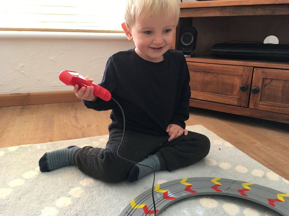 Christmas Comes Early My First Scalextric Review - Lylia Rose Blog Post 3