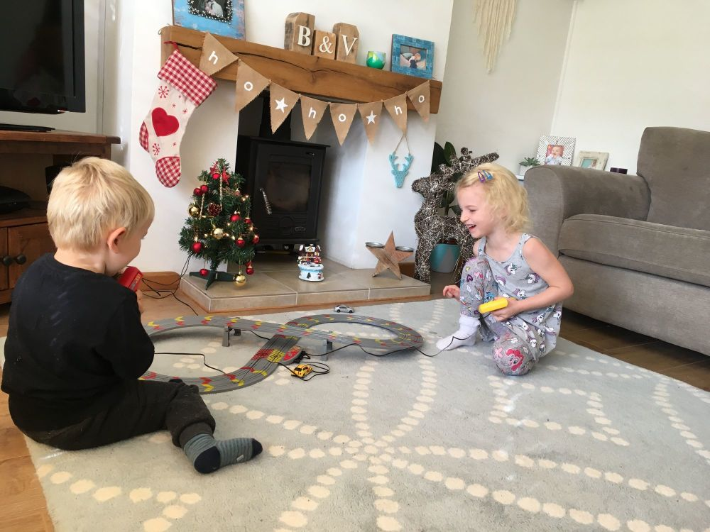 Christmas Comes Early My First Scalextric Review - Lylia Rose Blog Post 1