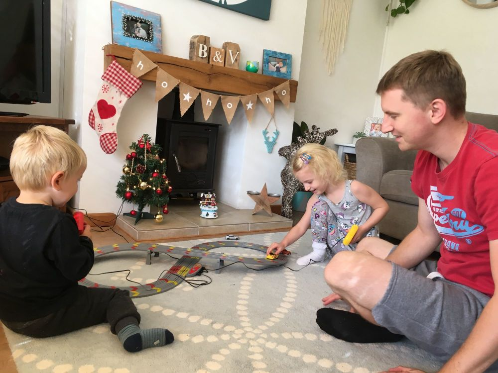 Christmas Comes Early My First Scalextric Review - Lylia Rose Blog Post