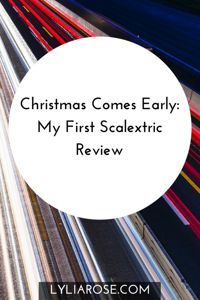 Christmas Comes Early My First Scalextric Review pin