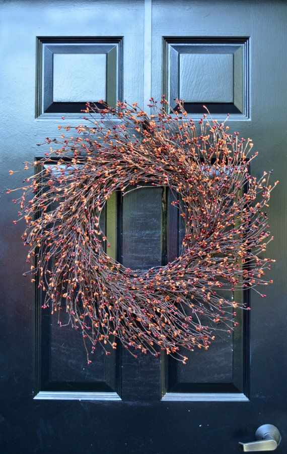 Halloween Costume and Décor Inspiration from Etsy pip berry wreath