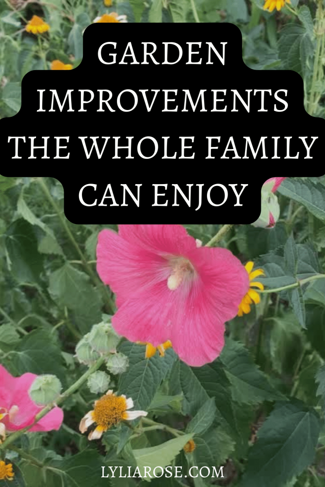 Garden Improvements the Whole Family can Enjoy