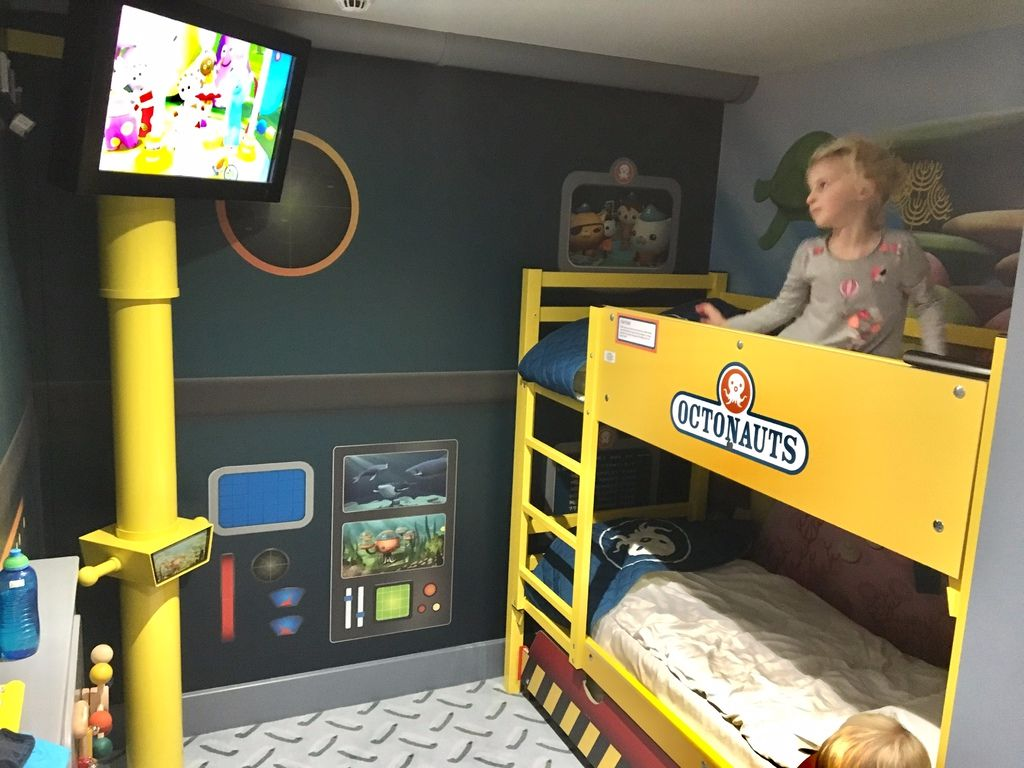My Very Honest CBeebies Land Hotel Review - Our stay in the Octonauts Room