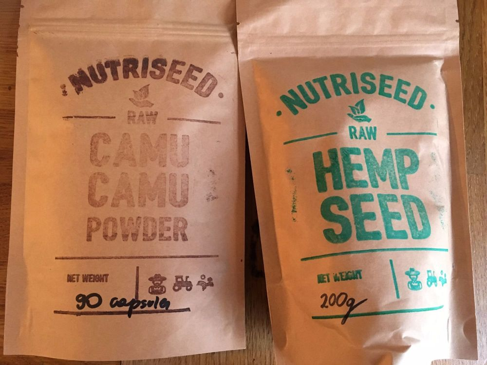 Nutriseed Goodies Hemp Seeds and Camu Camu Capsules Benefits and discount c