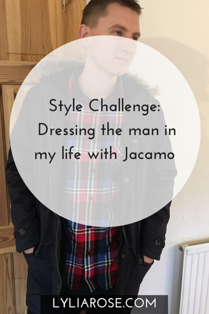 Style Challenge Dressing the man in my life with Jacamo