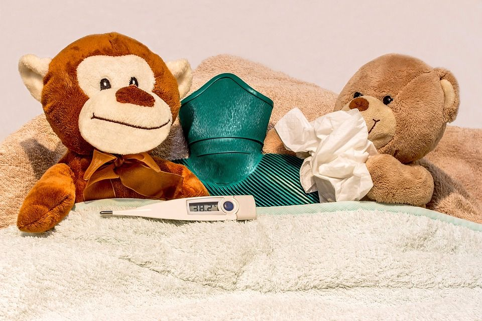 Common Childhood Illnesses Colds, Chicken Pox and Conjunctivitis