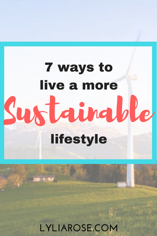 7 ways to live a more sustainable lifestyle (1)
