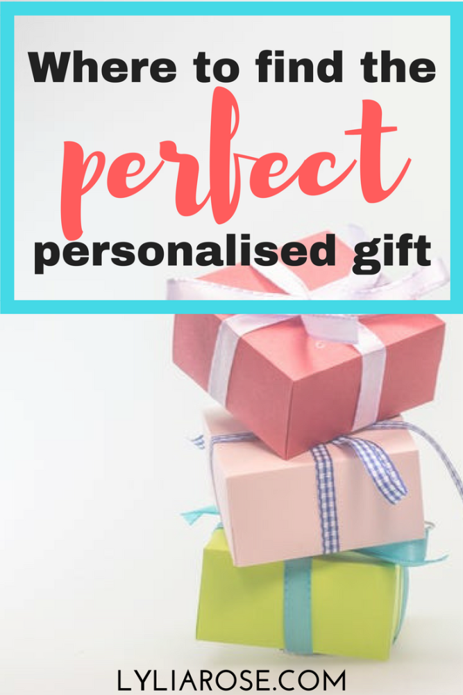 where to find the perfect personalised gift