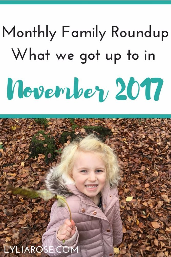 Monthly Family Roundup_ What we got up to in November 2017