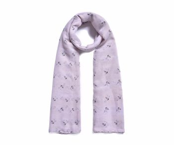 Nautical Anchors Print Scarf