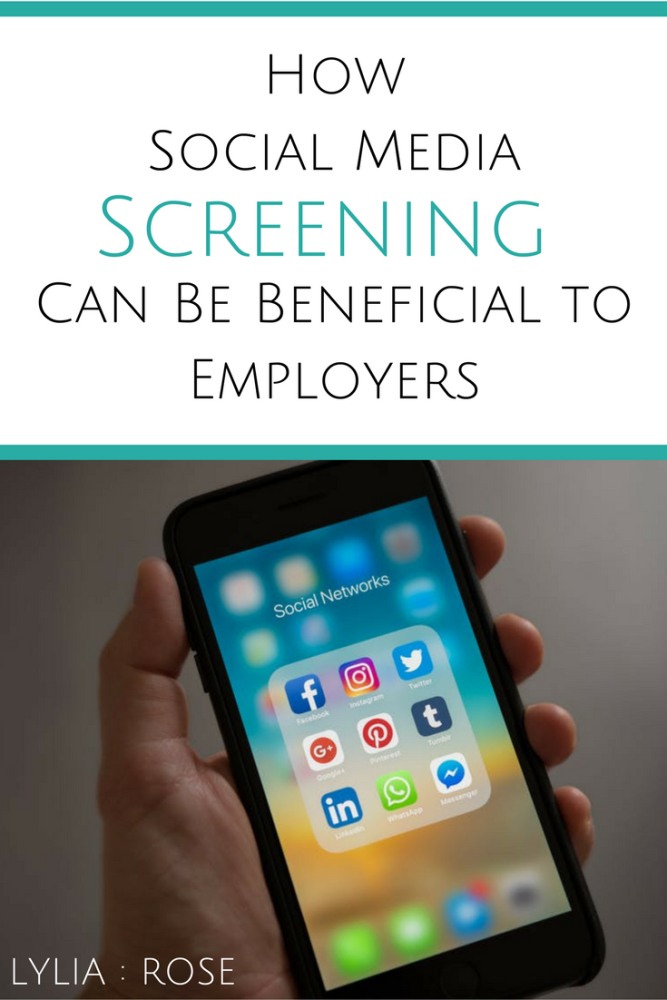 How social media screening can be beneficial to employers