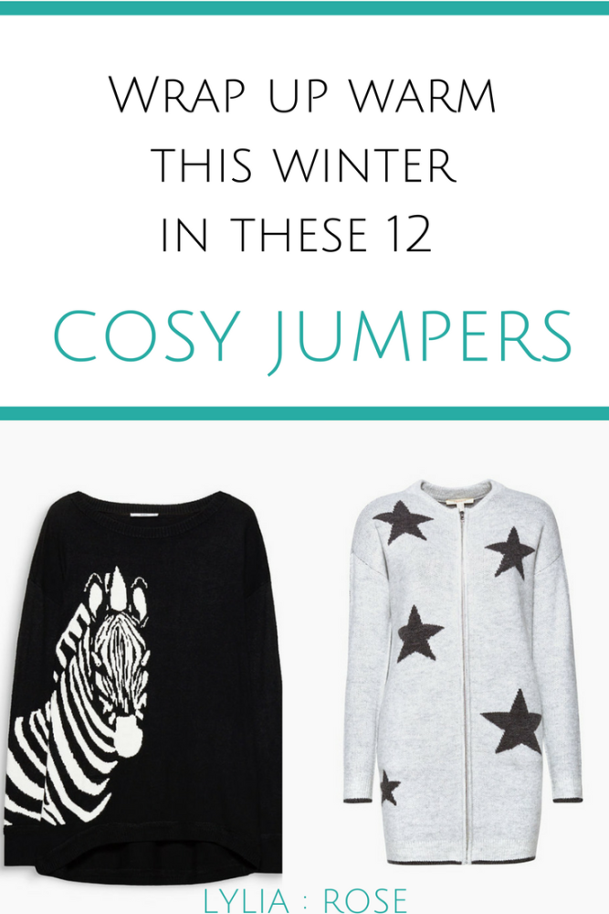 Wrap up warm this winter in these 12 ESPRIT cosy jumpers