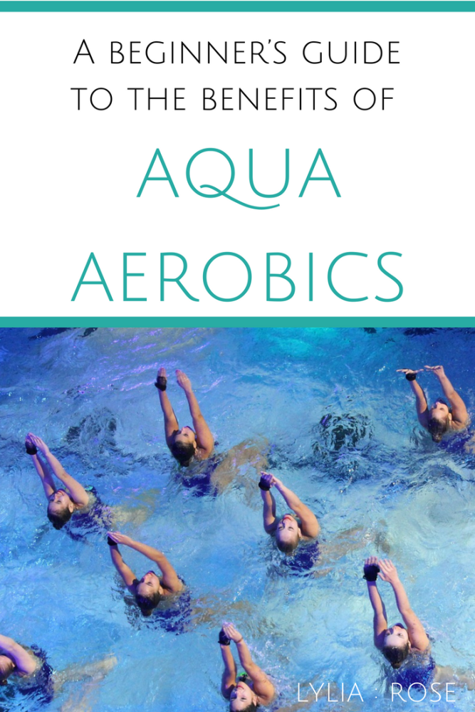 A beginner's guide to the benefits of aqua aerobics