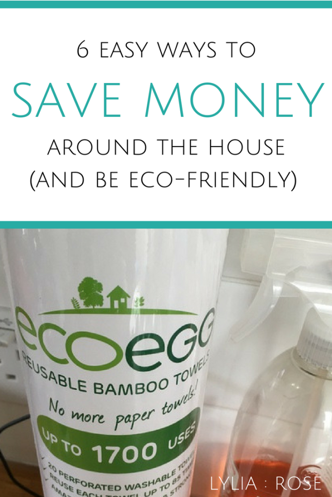 6 easy ways to save money around the house (and be eco-friendly) (1)