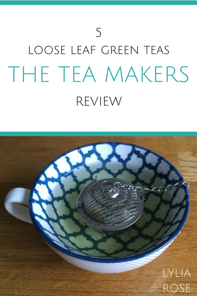 Kick off a healthy new you with loose leaf green teas from The Tea Makers