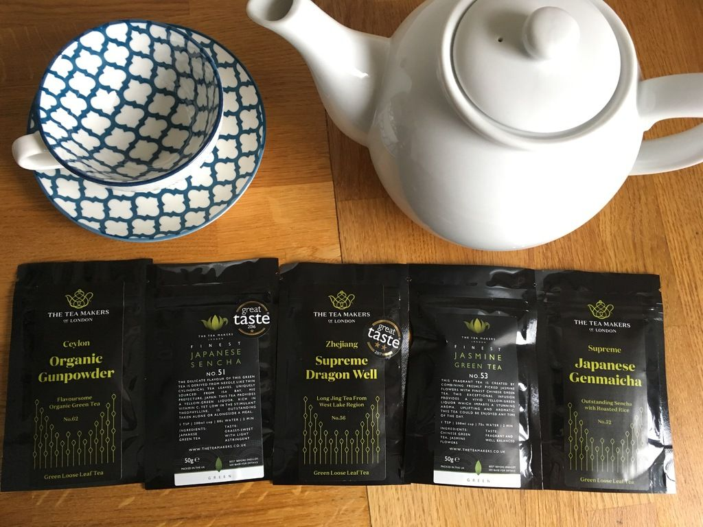 Kick off a healthy new you with loose leaf green teas from The Tea Makers (