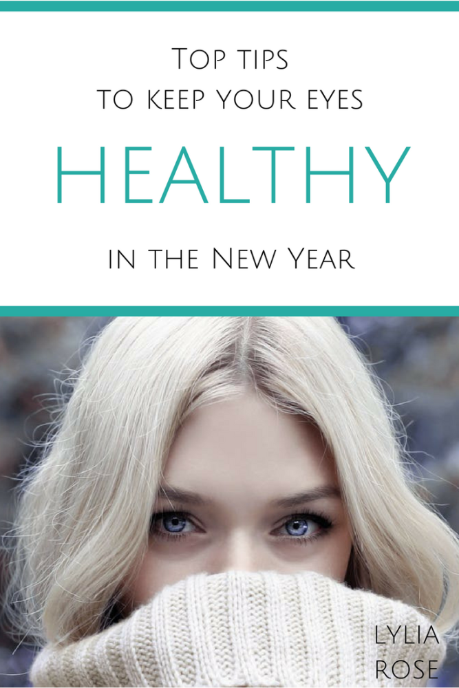 Top tips to keep your eyes healthy in the New Year