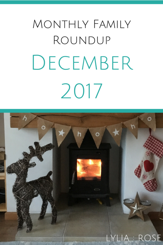 monthly family roundup December 2017