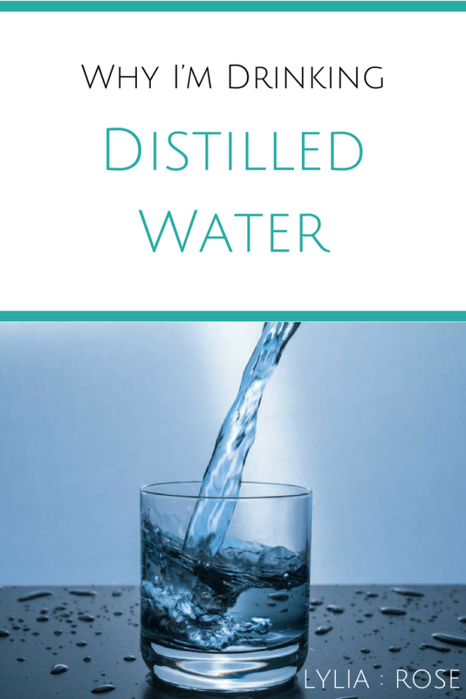 Distilled Water - why Im drinking it and Megahome review distiller