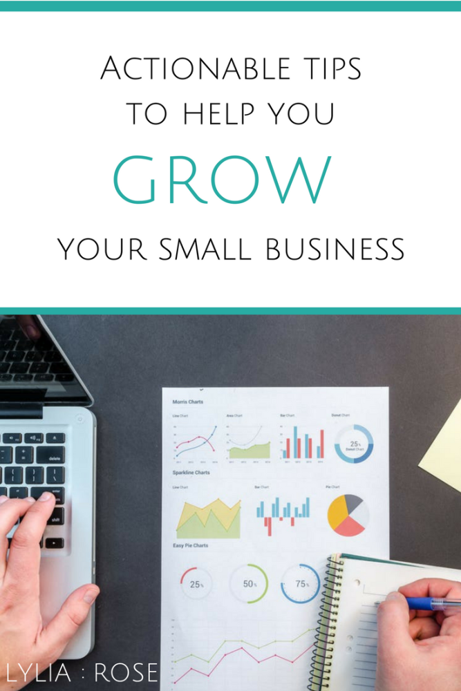 Actionable tips to help you grow your small business