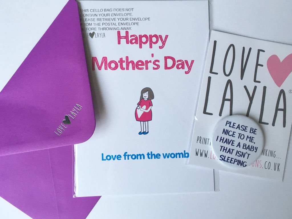 Love Layla Designs Review Alternative Mother's Day Cards and Giveaway Prize