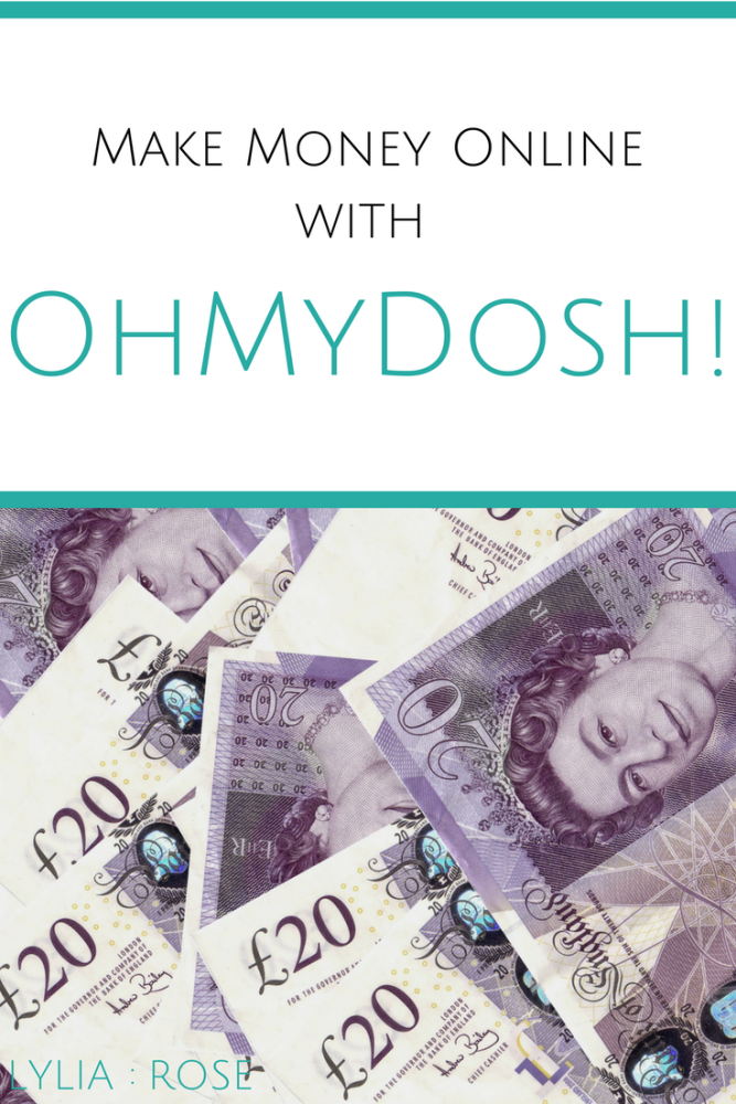 Make Money Online with OhMyDosh!