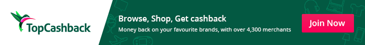 Get cashback on your shopping