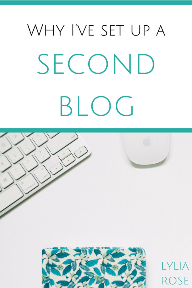 why ive set up a second blog - an intro to healthy vix