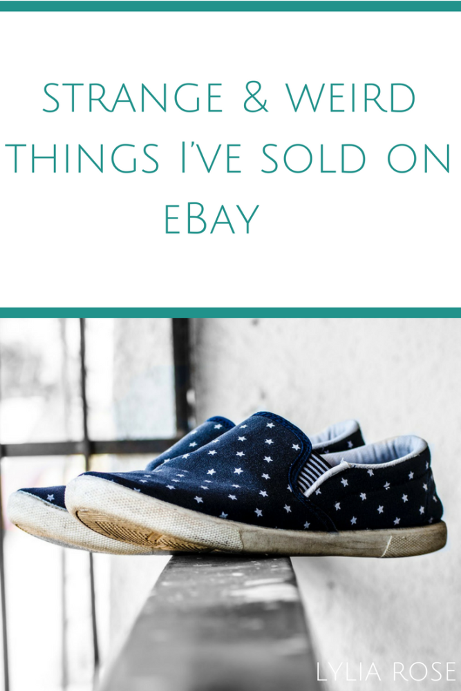 Some of the strange and weird things I've sold on eBay