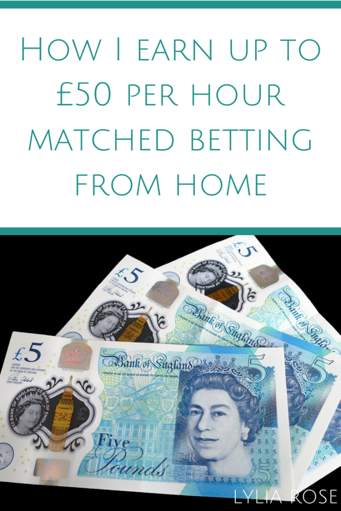 One Year Review_ How I earn up to £50 per hour matched betting from home