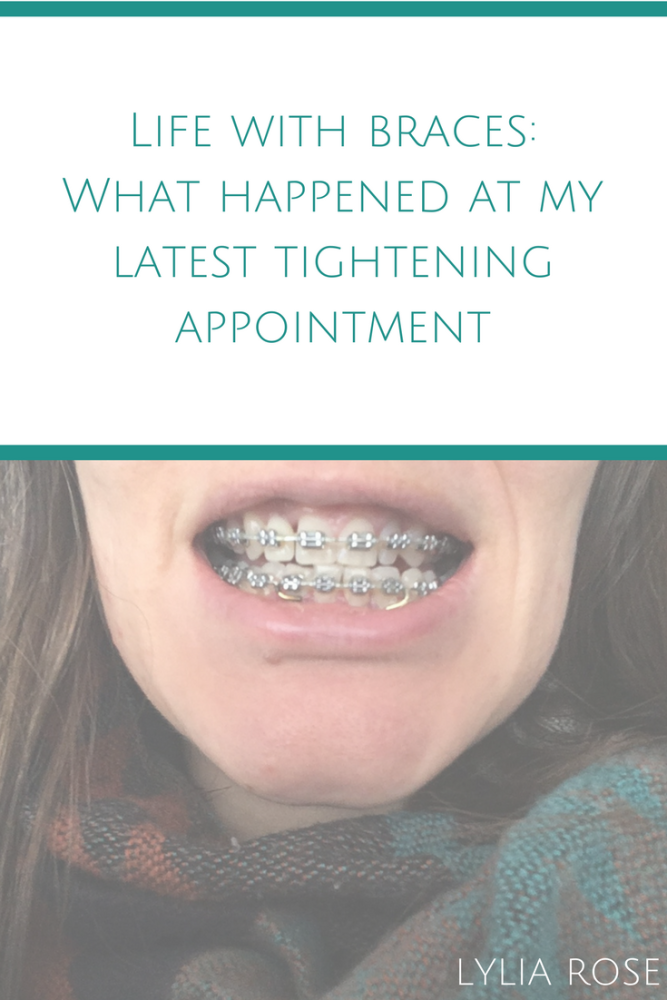 Life with orthodontic braces as an adult_ What happened at my latest tighte
