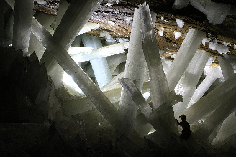 7 Greatest Destinations For Geographical Weirdness - Mexico Crystal Cave of