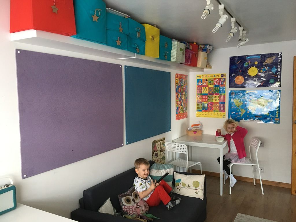 Creating a more Eco-Friendly Playroom with Sundeala Notice Boards - makeove