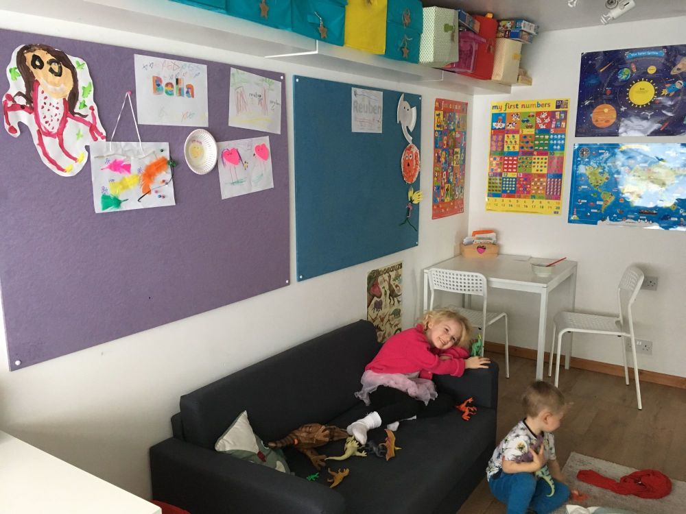 Creating a more Eco-Friendly Playroom with Sundeala Notice Boards - family