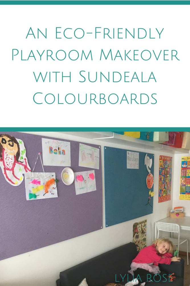 Creating a more Eco-Friendly Playroom with Sundeala Notice Boards