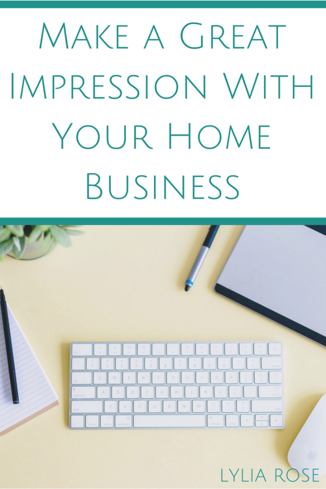 Perfectly Professional Make a Great Impression With Your Home Business