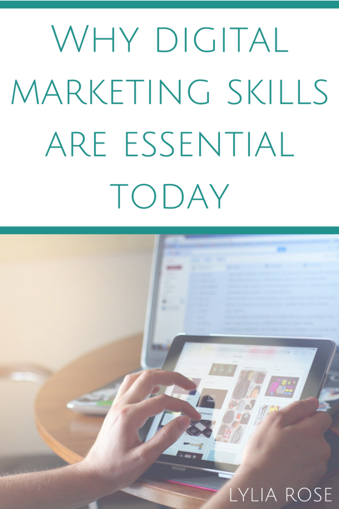 Why digital marketing skills are essential today